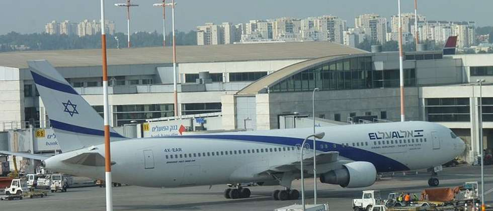 AN EL AL plane at Ben Gurion International Airport ( Wikimedia Commons )