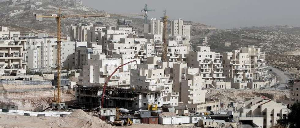 The construction site at the Jewish settlement of Har Homa in east Jerusalem on December 20, 2012 ( Ahmad Gharabli (AFP/File) )