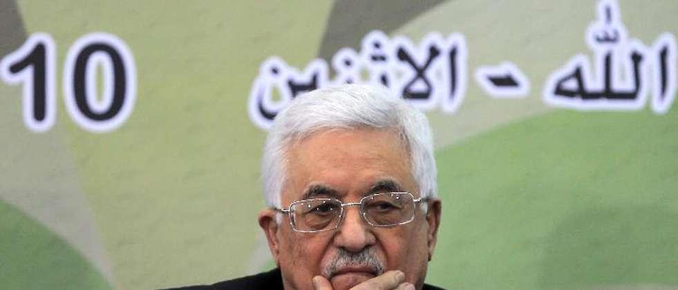 Le président palestinien Mahmoud Abbas, à Ramallah le 10 mars 2014 ( Abbas Momani (AFP) )
