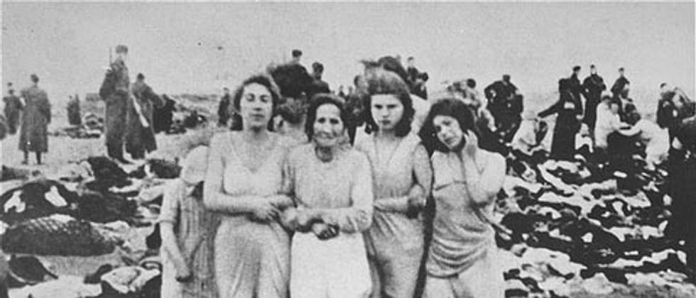 The mass murder of 2,749 Jews on the beach near the city of Liepāja, in Latvia, on 15–17 December 1941