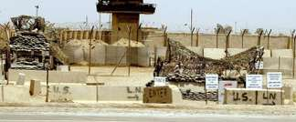The entrance to the notorious Abu Ghraib prison on the outskirts of Baghdad ( Ramzi Haidar (AFP/File) )