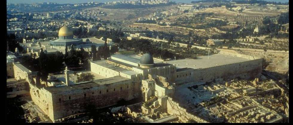 Mosques in Jerusalem (Courtesy Israel Ministry of Tourism)