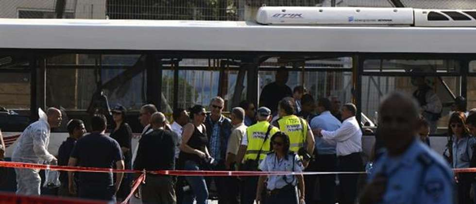 Terror attack in Tel Aviv 21.11.2012 (AFP)