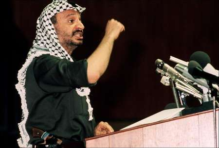 Yasser Arafat addresses delegates of the Organization of African Unity in July 1972 in Kampala  ( AFP )