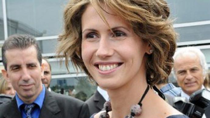 Asma Assad denies rumors that she fled the country ...